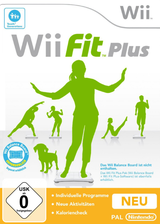 Wii Fit Plus Wii cover (RFPP01)