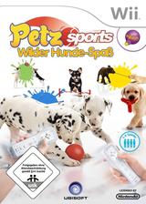 Petz Sports: Wilder Hunde-Spaß Wii cover (RG8P41)