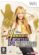 Hannah Montana: Welttournee im Rampenlicht Wii cover (RHQP4Q)