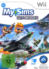 MySims Sky Heroes Wii cover (RJ6P69)