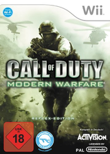 Call of Duty: Modern Warfare - Reflex Edition Wii cover (RJAP52)