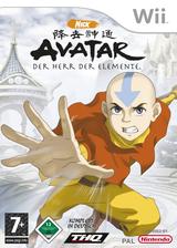 Avatar - Der Herr der Elemente Wii cover (RLVP78)