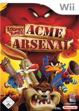 Looney Tunes: Acme Arsenal Wii cover (RLYPWR)