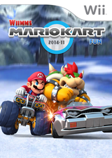 Wiimms MKW Fun 2014-11.pal CUSTOM cover (RMCP26)
