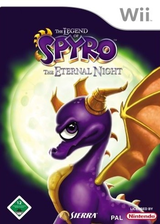 The Legend of Spyro: The Eternal Night Wii cover (RO7P7D)