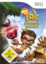 Tak - Das Geheimnis des glühenden Kristalls Wii cover (ROGP78)