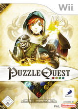 Puzzle Quest - Challenge of the Warlords Wii cover (RQWPG9)