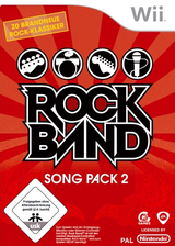 Rock Band Song Pack 2 Wii cover (RRDP69)