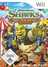 Shreks: Schräge Partyspiele Wii cover (RRQP52)