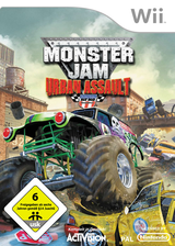 Monster Jam: Urban Assault Wii cover (RUAP52)