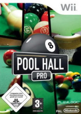 Pool Hall Pro Wii cover (RURPPL)
