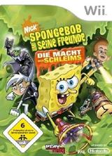 Sponge Bob und seine Freunde: Die Macht des Schleims Wii cover (RUSX78)