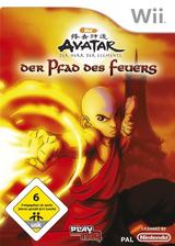 Avatar: Der Herr der Elemente - Der Pfad des Feuers Wii cover (RV9P78)