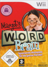 Margot's Word Brain Wii cover (RVGP78)
