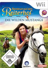 Abenteuer auf dem Reiterhof: Die wilden Mustangs Wii cover (RW8P41)