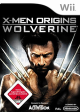 X-Men Origins: Wolverine Wii cover (RWUX52)