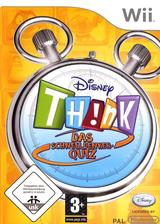 Disney Th!nk - Das Schnelldenker-Quiz Wii cover (RXDD4Q)