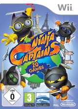 Ninja Captains Wii cover (RY7PHZ)