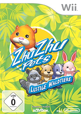 Zhu Zhu Pets: Lustige Waldtiere Wii cover (S2ZP52)