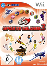Sports Island 3 Wii cover (S3DP18)