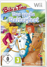 Bibi und Tina Das grosse Reiterfest Wii cover (SA9D7K)