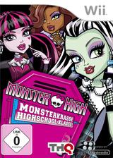 Monster High:Monsterkrasse Highschool-Klasse! Wii cover (SAOP78)