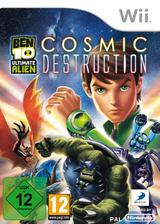 Ben 10: Ultimate Alien: Cosmic Destruction Wii cover (SBJPAF)