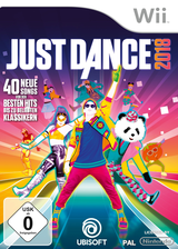 Just Dance 2018 Wii cover (SE8P41)