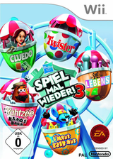 Hasbro: Spiel mal wieder 3 Wii cover (SHBP69)