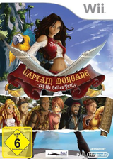Captain Morgane and the Golden Turtle Wii cover (SKKXHY)