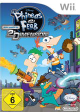 Phineas und Ferb:Quer durch die 2. Dimension Wii cover (SMFP4Q)