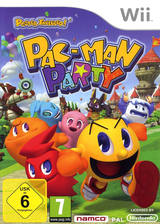 Pac-Man Party Wii cover (SP7PAF)