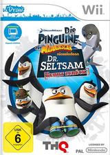 Die Pinguine aus Madagaskar: Dr. Seltsam kehrt zurück Wii cover (SP8P78)