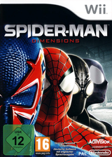 Spider-Man: Dimensions Wii cover (SPDP52)