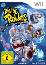 Raving Rabbids: Die verrückte Zeitreise Wii cover (SR4P41)