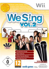 We Sing Vol. 2 Wii cover (SSEDNG)