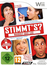 Stimmt's (Truth or Lies) Wii cover (STLP78)