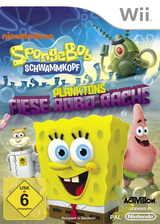 Spongebob Schwammkopf: Planktons Fiese Robo-Rache Wii cover (SVDP52)