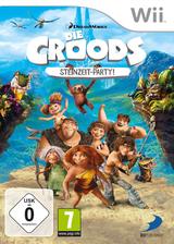 Die Croods: Steinzeit Party! Wii cover (SVVPAF)