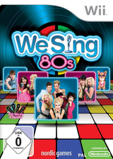 We Sing 80s Wii cover (SW8PNG)