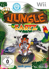 Jungle Kartz Wii cover (SX2PNG)