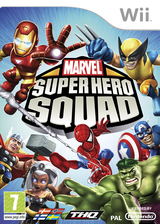 Marvel Super Hero Squad Wii cover (R38P78)