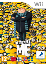 Despicable Me: The Game Wii cover (SDMPAF)