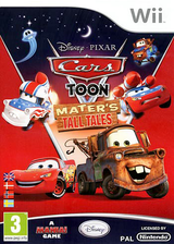 Cars Toon: Mater's Tall Tales Wii cover (STOP4Q)