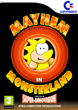 Mayhem in Monsterland VC-C64 cover (C9GP)