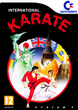 International Karate VC-C64 cover (C9YP)