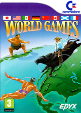 World Games VC-C64 cover (C9ZP)