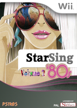 StarSing:'80s Volume 2 v2.2 CUSTOM cover (CS9P00)