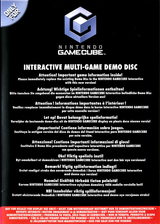 Interactive Multi-Game Demo Disc - May 2004 GameCube cover (D86P01)