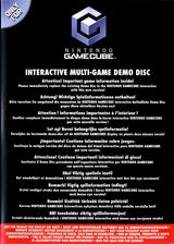 Interactive Multi-Game Demo Disc - November 2003 GameCube cover (D88P01)